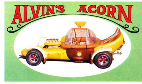 Alvin's Acorn My Dads Toys